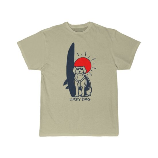 Lucky Dog Tee - 100% of the proceeds of the sale of this shirt are donated to local spay and neuter programs